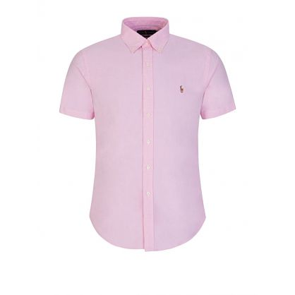 Pink Slim Fit Oxford Shirt