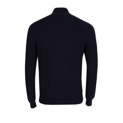Navy Pima Knit Jumper