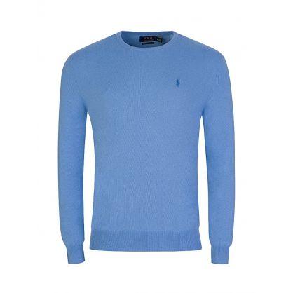 Sky Blue Cashmere Jumper