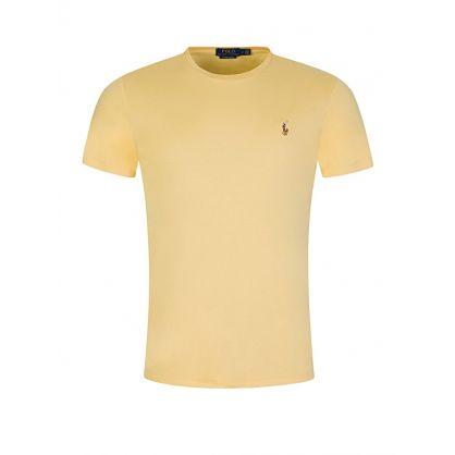 Yellow Custom Slim Fit T-Shirt