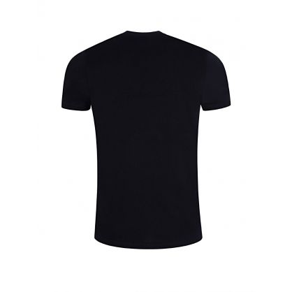 Navy Slim Fit PS Logo T-Shirt