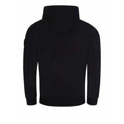 Black Hooded Soft Shell Jacket