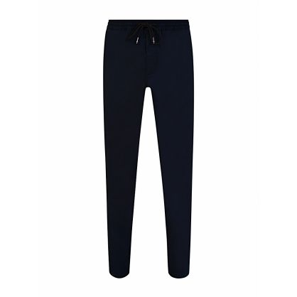 Navy Soft Twill Active Trousers