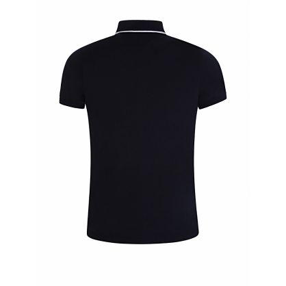 Navy Slim-Fit Sophisticated Polo Shirt