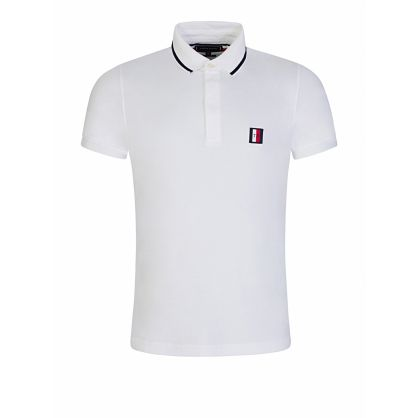 White Slim-Fit Sophisticated Polo Shirt