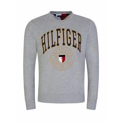 Grey Varsity Sweatshirt