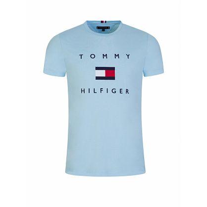 Blue Flag Logo T-Shirt