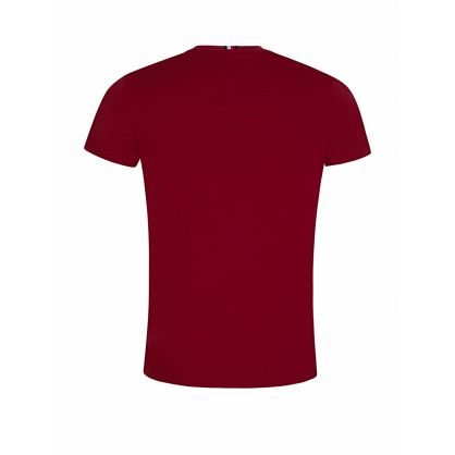 Burgundy Flag Logo T-Shirt