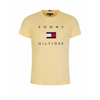 Yellow Flag Logo T-Shirt