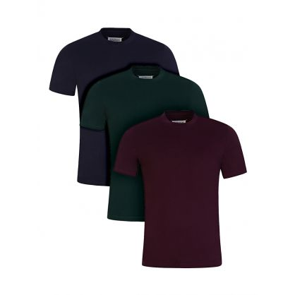 Green/Red/Navy Stereotype T-Shirt 3-Pack
