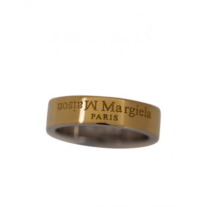 Gold/Silver Logo Ring