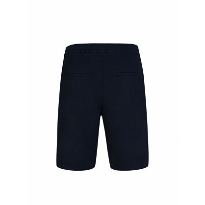 J.Lindeberg Navy Sasha Linen Shorts