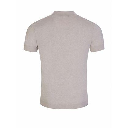 J.Lindeberg Beige Ridge Cotton Polo Shirt