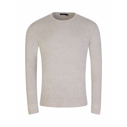 Beige Newman Perfect Linen Sweatshirt