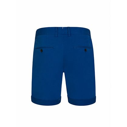 Blue Cotton Nathan Shorts