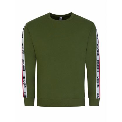 Green Tape Logo Sweatshirt