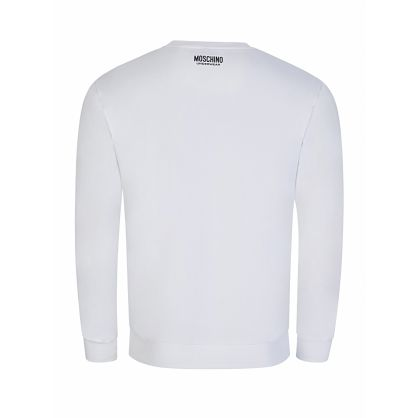 White Tape Logo Sweatshirt
