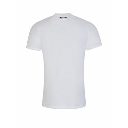 White Tape Logo T-Shirt
