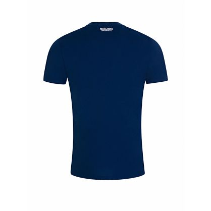 Navy Tape Logo T-Shirt