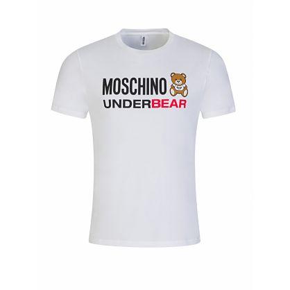 White UnderBear Logo T-Shirt
