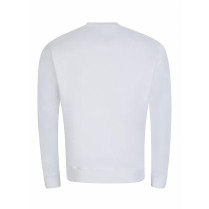 White ICON Logo Sweatshirt