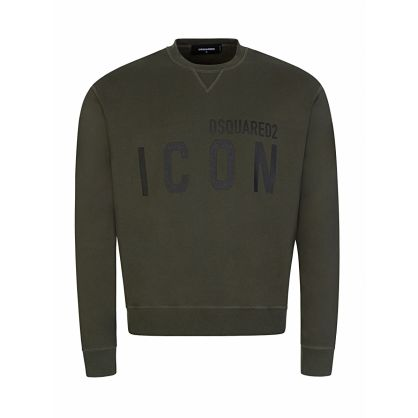 Green ICON Logo Sweatshirt