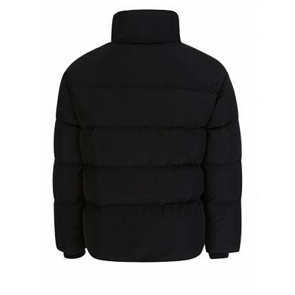 Black Down-Filled Heritage Jacket