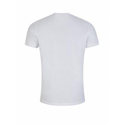 White DSQ2 Logo Print T-Shirt