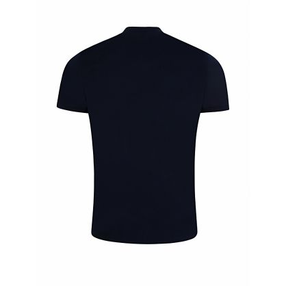 Navy United Print T-Shirt