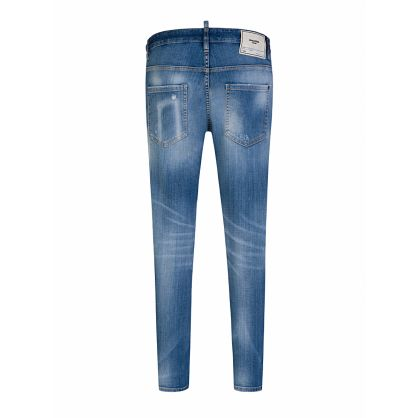 Blue Denim Skater Jeans
