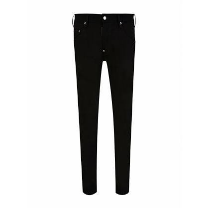 Black Denim Skater Jeans