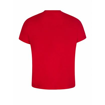 Red Distorted Logo T-Shirt