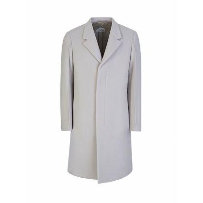 Beige Wool Velour Coat