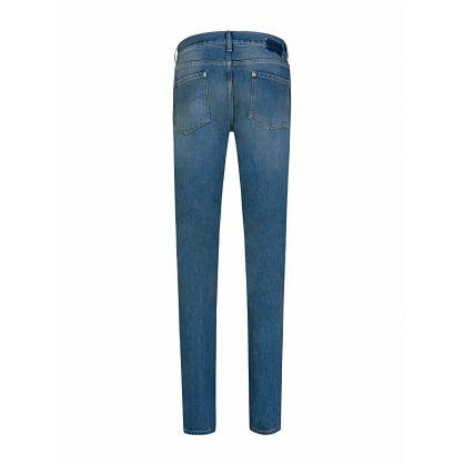 Blue Vintage Stonewashed Jeans