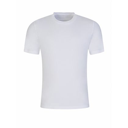 White Garment-Dyed T-Shirt