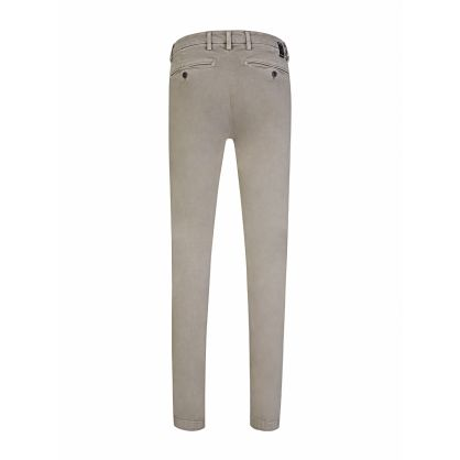 Grey Slim-Fit Hyperflex Zeumar Chinos