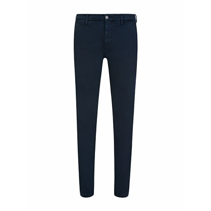 Navy Slim-Fit Hyperflex Zeumar Chinos