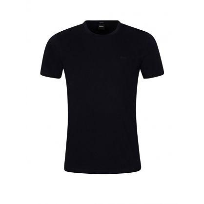 Navy Lecco Logo T-Shirt