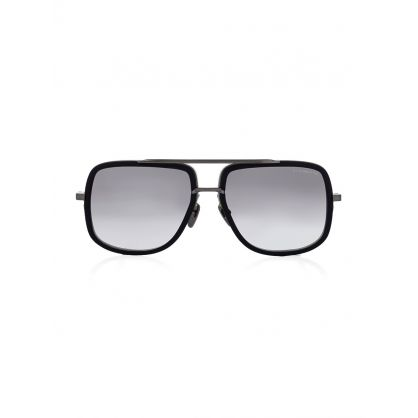 Black Mach-One Sunglasses