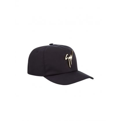 Black Signature Logo Cap