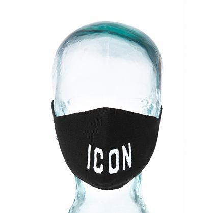 Kids Black ICON Face Mask