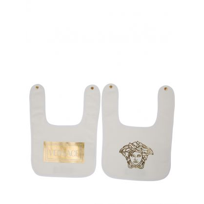 Ivory Baby Bib Set 2-Pack