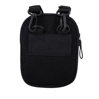 Black Athleisure Messenger Bag