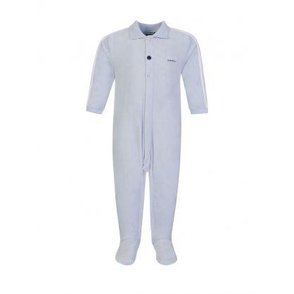 Blue Babygrow Pyjamas