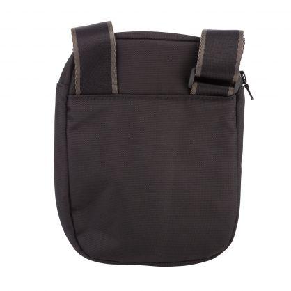 Black Essential Messenger Bag
