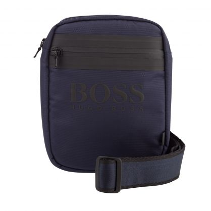 Navy Essential Messenger Bag