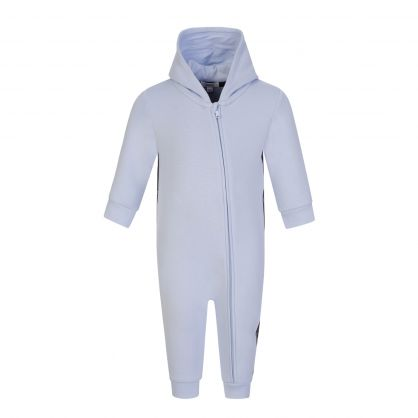 Pale Blue All in One Baby Suit