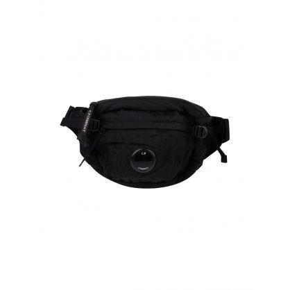 Black Lens Waist Bag