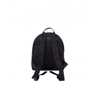Kids Black Nylon ICON Backpack