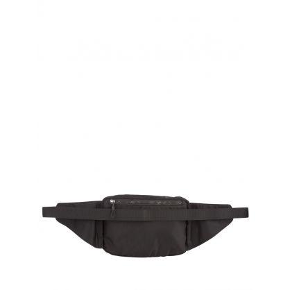Kids Black Block Logo ICON Waist Bag